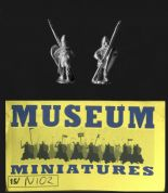 Museum Miniatures 15mm Dark Ages NI 02 Norman Spearmen (x 8 figs)
